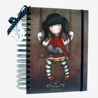 pamiętnik-organizer - Santoro - kolekcja Gorjuss - Ruby
