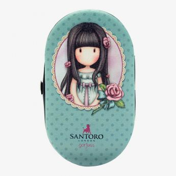 zestaw do manicure - Santoro - kolekcja Gorjuss - róże