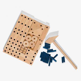 mała stolarnia - zestaw konstrukcyjny - SES Creative