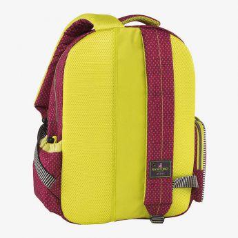 dwukomorowy plecak z kieszeniami - Santoro - Gorjuss - Dziewczynka z sercem