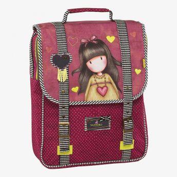 plecak z uchwytem - Santoro - Gorjuss - Dziewczynka z sercem