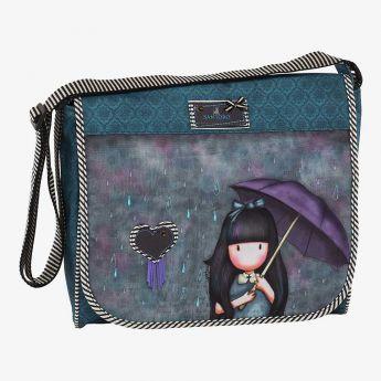 torba na ramię - Santoro - Gorjuss - parasolka