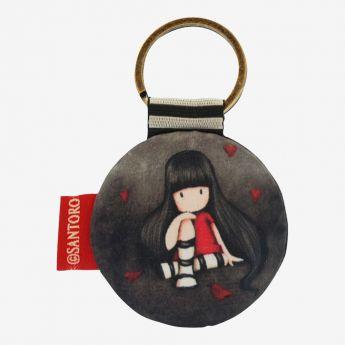 breloczek do kluczy - Santoro - kolekcja Gorjuss - Ruby