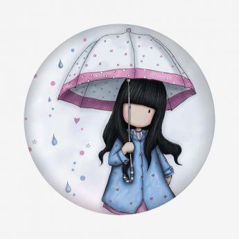 magnes - Santoro - kolekcja Gorjuss - Dziewczynka z parasolką