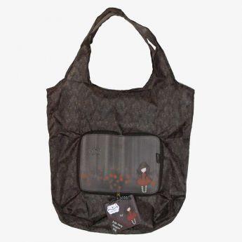 składana torba na zakupy - Santoro - kolekcja Gorjuss - dziewczynka w lesie