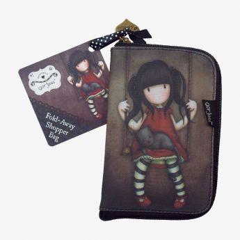 składana torba na zakupy - Santoro - kolekcja Gorjuss - Ruby