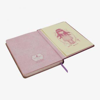 pamiętnik w twardej oprawie - Santoro - kolekcja Gorjuss - stokrotki