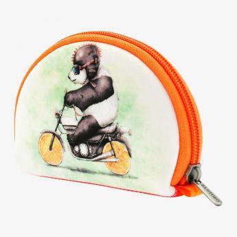 duża sakiewka - Santoro - Fruity Scooty - Panda na motorze