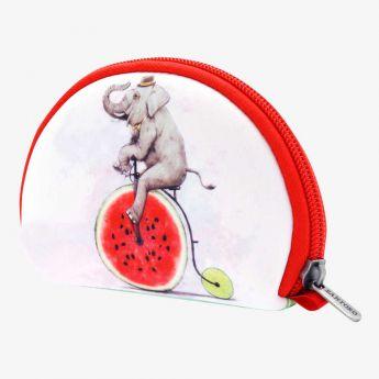 duża sakiewka - Santoro - Fruity Scooty - Słoń na bicyklu