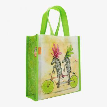 mała torba na zakupy - Santoro - Fruity Scooty - Zebry