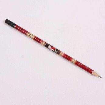 ołówek z gumką - Santoro - Gorjuss - serduszka