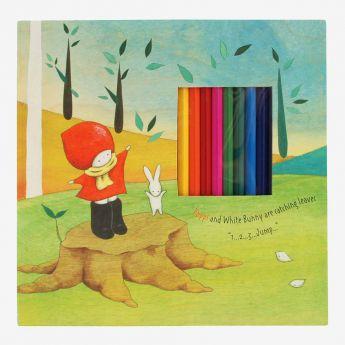 zestaw do rysowania - Santoro - Poppi Love