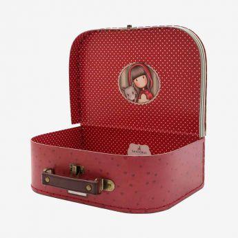 mała walizka - Santoro - Gorjuss - Czerwony Kapturek