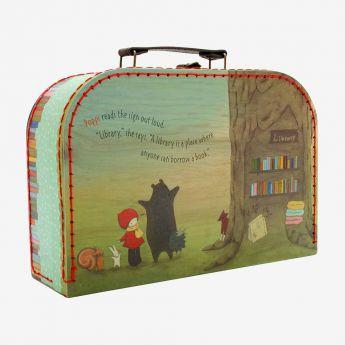 mała walizka - Santoro - Poppi Loves