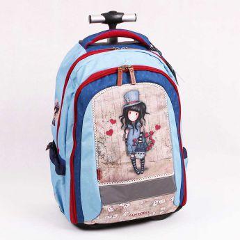 631cf1c136dd8 ... plecak-walizka na kółkach - Santoro - Gorjuss - Dziewczynka w kapeluszu