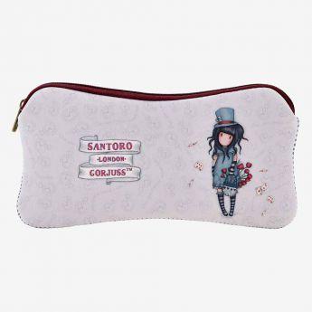 piórnik na akcesoria - Santoro - Gorjuss - Dziewczynka w kapeluszu