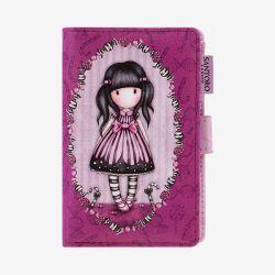 duży portfel z przegródkami - Santoro - Gorjuss - cukierek