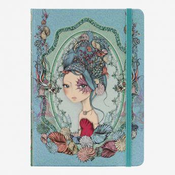 notatnik-pamiętnik w twardej oprawie - Santoro - Mirabelle - Marina