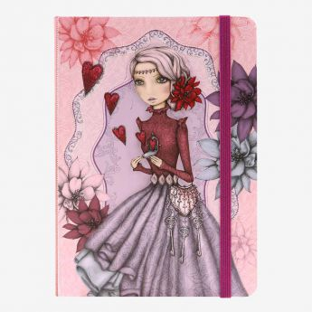 notatnik-pamiętnik w twardej oprawie - Santoro - Mirabelle - sekrety