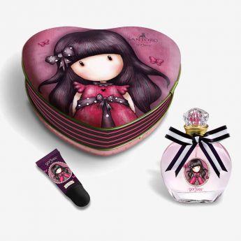perfumy i balsam do ust w metalowym pudełku - Santoro - Gorjuss