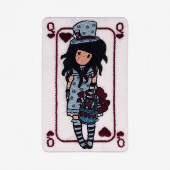 haftowana prasowanka - Santoro - Gorjuss - Dziewczynka w kapeluszu