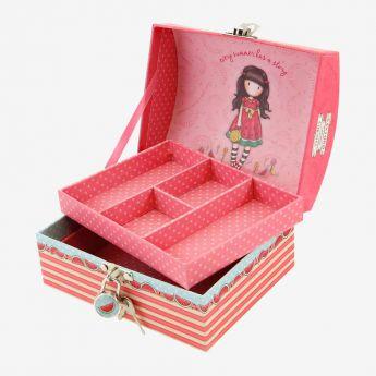 pudełko na biżuterię - Santoro - Gorjuss - arbuz