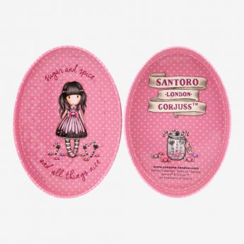 metalowe pudełko - Santoro - Gorjuss - cukierek