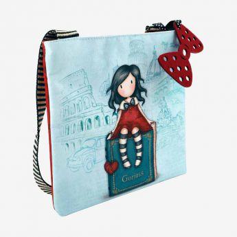kwadratowa torebka na ramię - Santoro - Gorjuss - moja historyjka