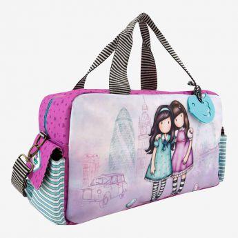 37db8c094b11b podróżna torba sportowa - Santoro - Gorjuss - przyjaciółki - Mokiki