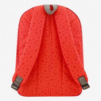dwukomorowy plecak szkolny z kieszenią- Santoro - Gorjuss - motylki