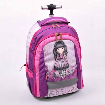 plecak-walizka na kółkach - Santoro - Gorjuss - cukierki