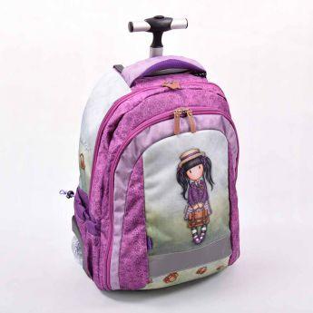 plecak-walizka na kółkach - Santoro - Gorjuss - Dziewczynka z teczką