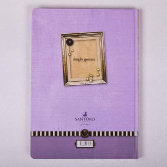 zeszyt A4 - opr. twarda - kratka - 96k - Santoro - Gorjuss - wzór 7