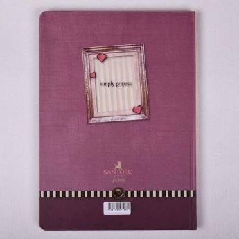 zeszyt A4 - opr. twarda - linie - 96k - Santoro - Gorjuss - wzór 2