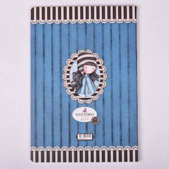 zeszyt A4 - opr. miękka - linie - 40k - Santoro - Gorjuss - wzór 8