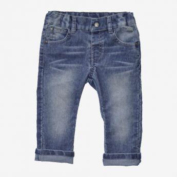 Birba - jasnoniebieskie spodnie sztruksowe