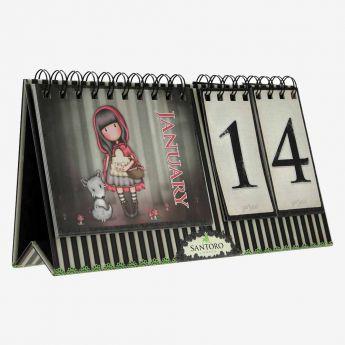 wieczny kalendarz stojący - Santoro - Gorjuss