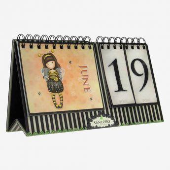 wieczny kalendarz - Santoro - Gorjuss