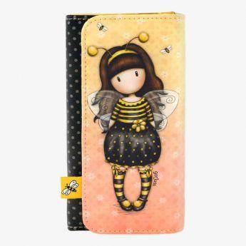 portfel z przegródkami - Santoro - Gorjuss - pszsczółka