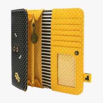 portfel z przegródkami - Santoro - Gorjuss - pszczółka