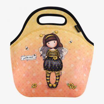 torba termiczna zamykana na zamek - Santoro - Gorjuss - pszczółka
