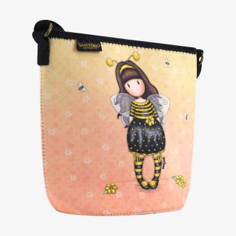 torebka neoprenowa - Santoro - Gorjuss - pszczółka