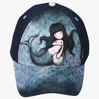 czapka z daszkiem - Santoro - Gorjuss - syrenka