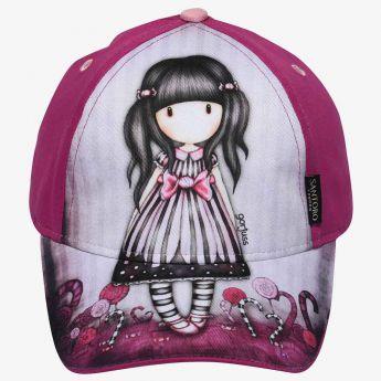 czapka z daszkiem - Santoro - Gorjuss - cukierek