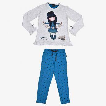piżama - Santoro - Gorjuss - wycinanka