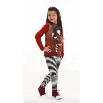 komplet bluzka i legginsy - Santoro - Gorjuss - Ruby