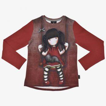 bluzka z długimi rękawami - Santoro - Gorjuss - Ruby