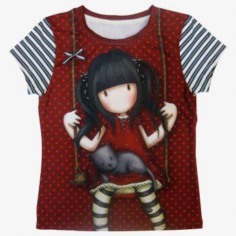 bluzka z krótkimi rękawami - Santoro - Gorjuss - Ruby