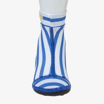 buty-skarpetki do wody - Duukies - niebieskie paski