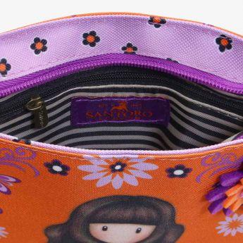 kwadratowa torebka na ramię - Santoro - Gorjuss - pajęczynka